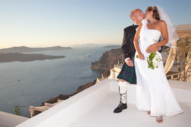 Wedding in Santorini Agia Irene