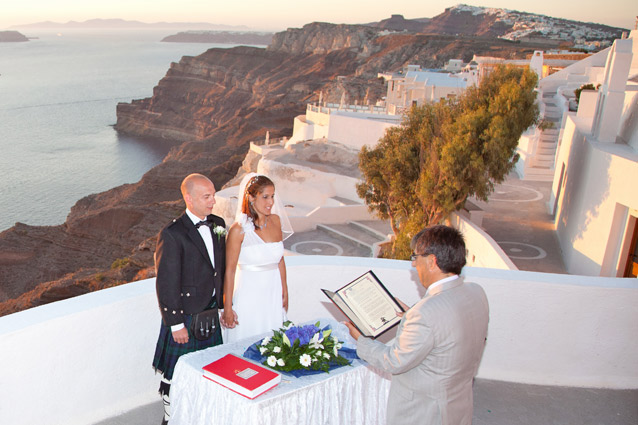 saunset weddingsantorini