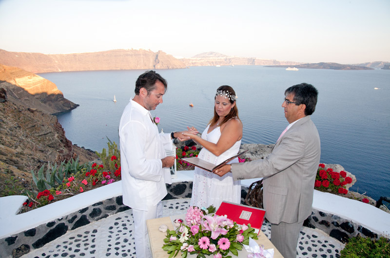andronis suites wedding