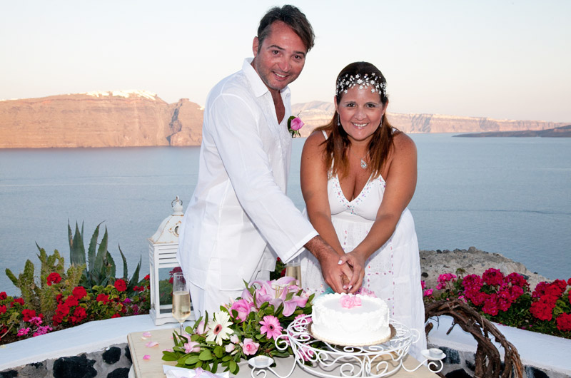 andronis santorini wedding