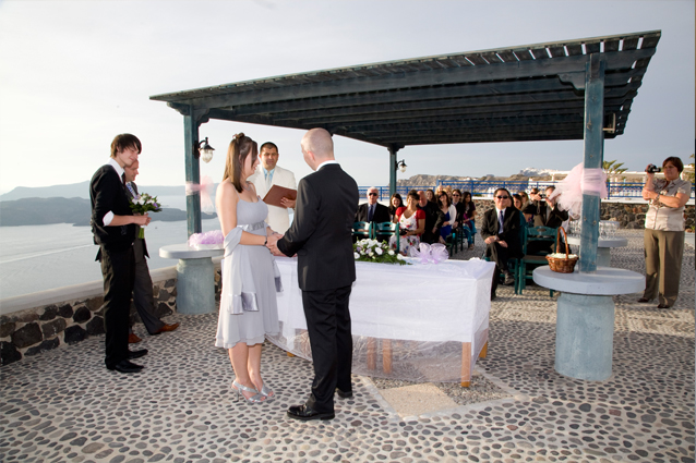 greek civil wedding