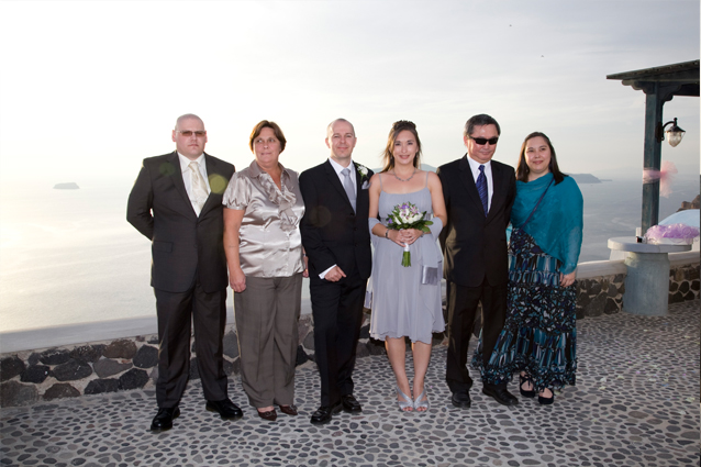 santorini greek weddings
