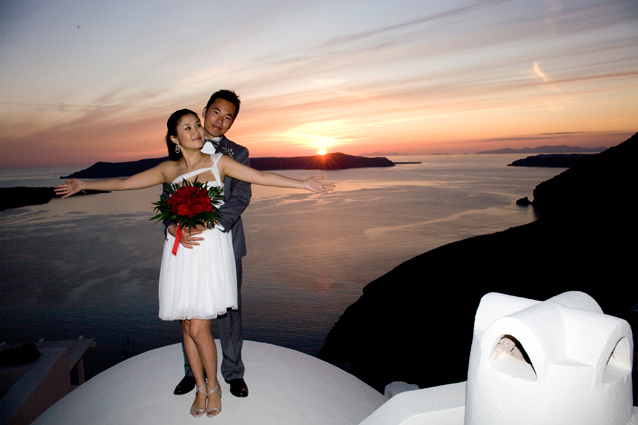 Santorini Wedding Pictures Enigma May 2009