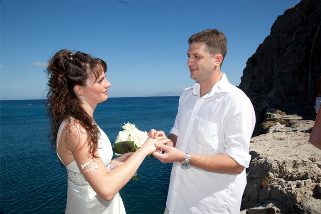 ring exchange in greece