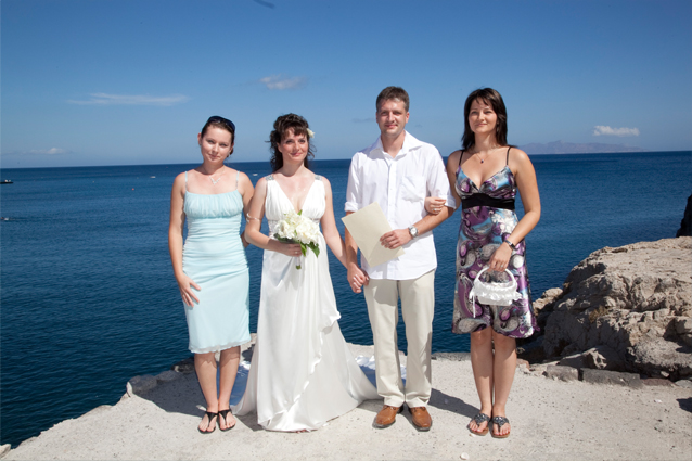 tie the knot in greece