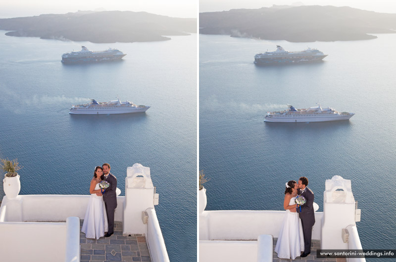 Wedding in Santorini - 14/04/2013