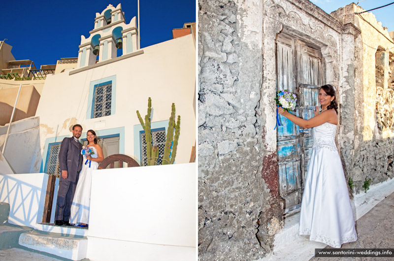 Santorini Wedding at Loucas Hotel