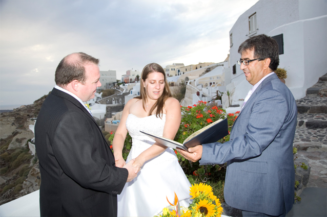 vow renewal in greece