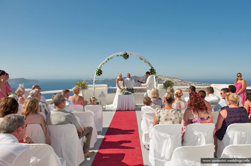 Santorini Wedding Pictures