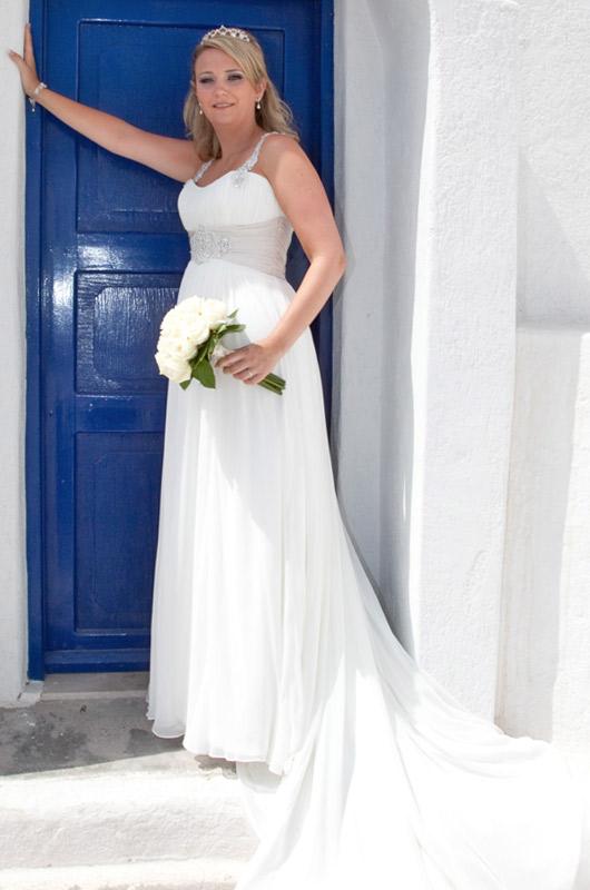 22 stunning santorini wedding dress for Pawn shops that buy wedding dresses