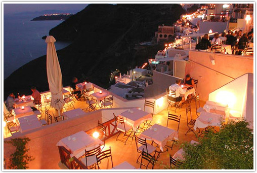 Wedding Reception Santorini Island Wedding Reception Ideas