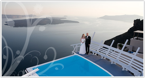 santorini wedding destination