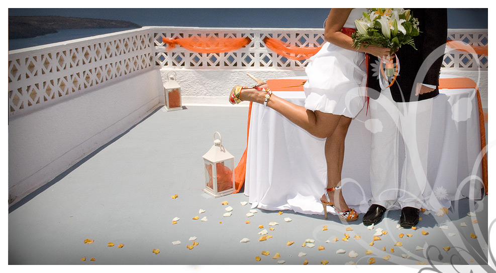 Slideshow from weddings in Santorini